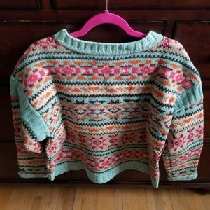 Sundance colorful wool sweater